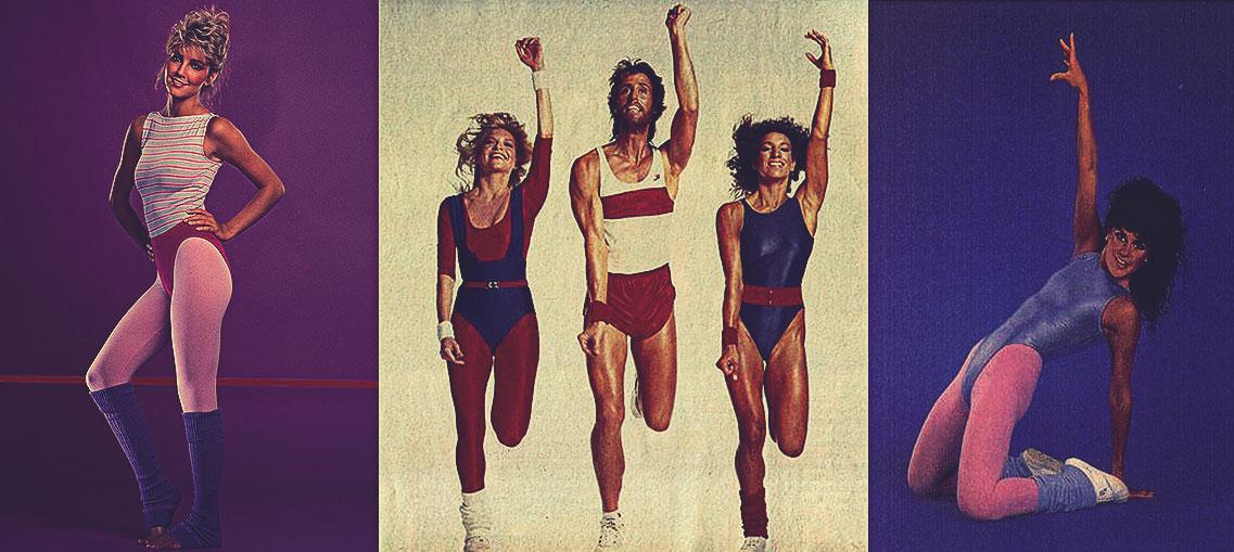 moda fitness lat 80tych