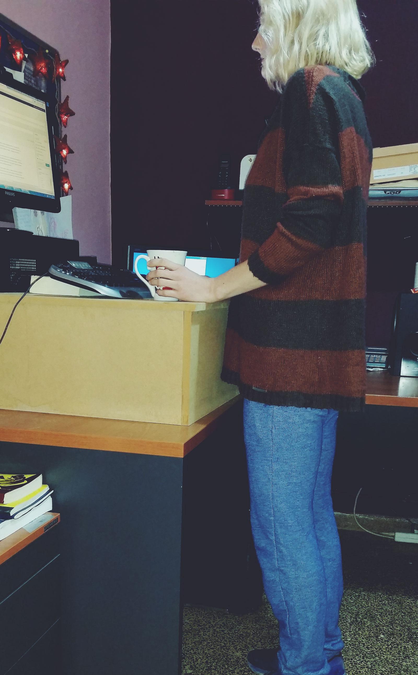 biurko stojące